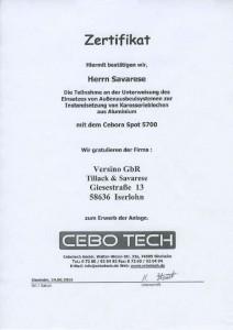 Zertifikat-Cebo-Tech-Cebora-Spot-5700-ans