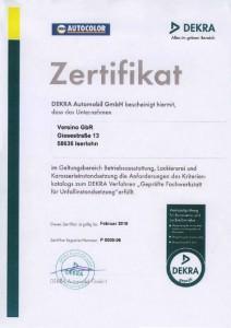 Zertifikate-Dekra-ans